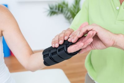 Physiotherapy for wrist fracture