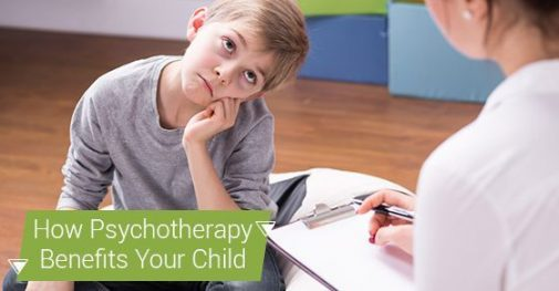 How Psychotherapy Can Benefit Your Child