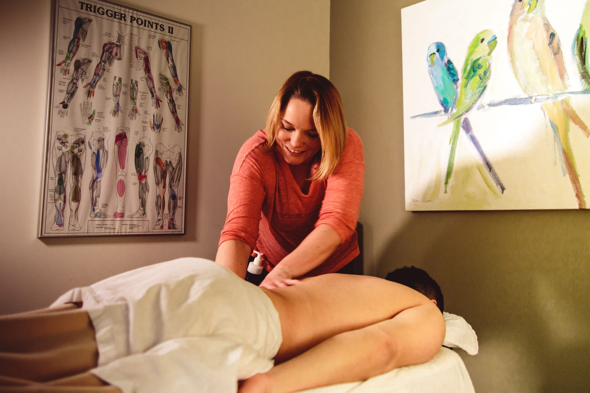Massage therapy in Shops at Don Mills