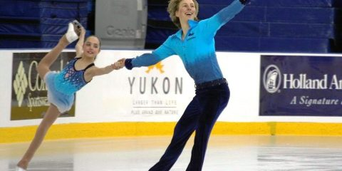 Preventing knee and ankle injuries in figure skaters