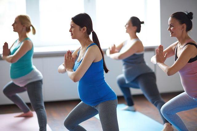 Prenatal yoga at don mills