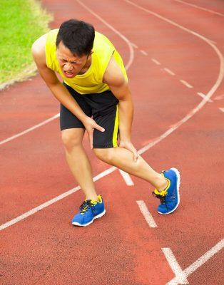 muscle sprain-strain